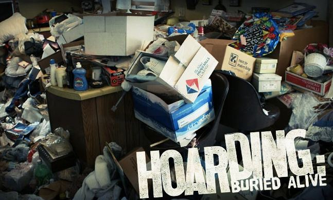 clearing hoarders home in Northern Ireland