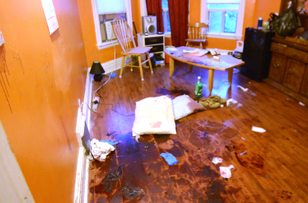 extreme trauma cleaning job in Northern Ireland
